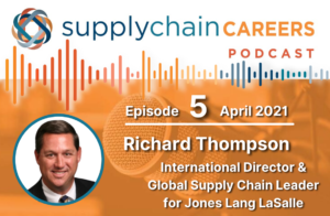 Supply chain careers podcast - rich thompson