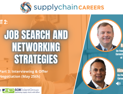 Job Search and Networking Strategies – View the Recap!
