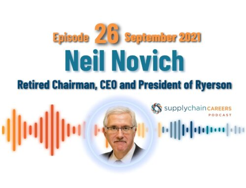 Podcast: former Fortune 500 Chairman, President and CEO – Neil Novich